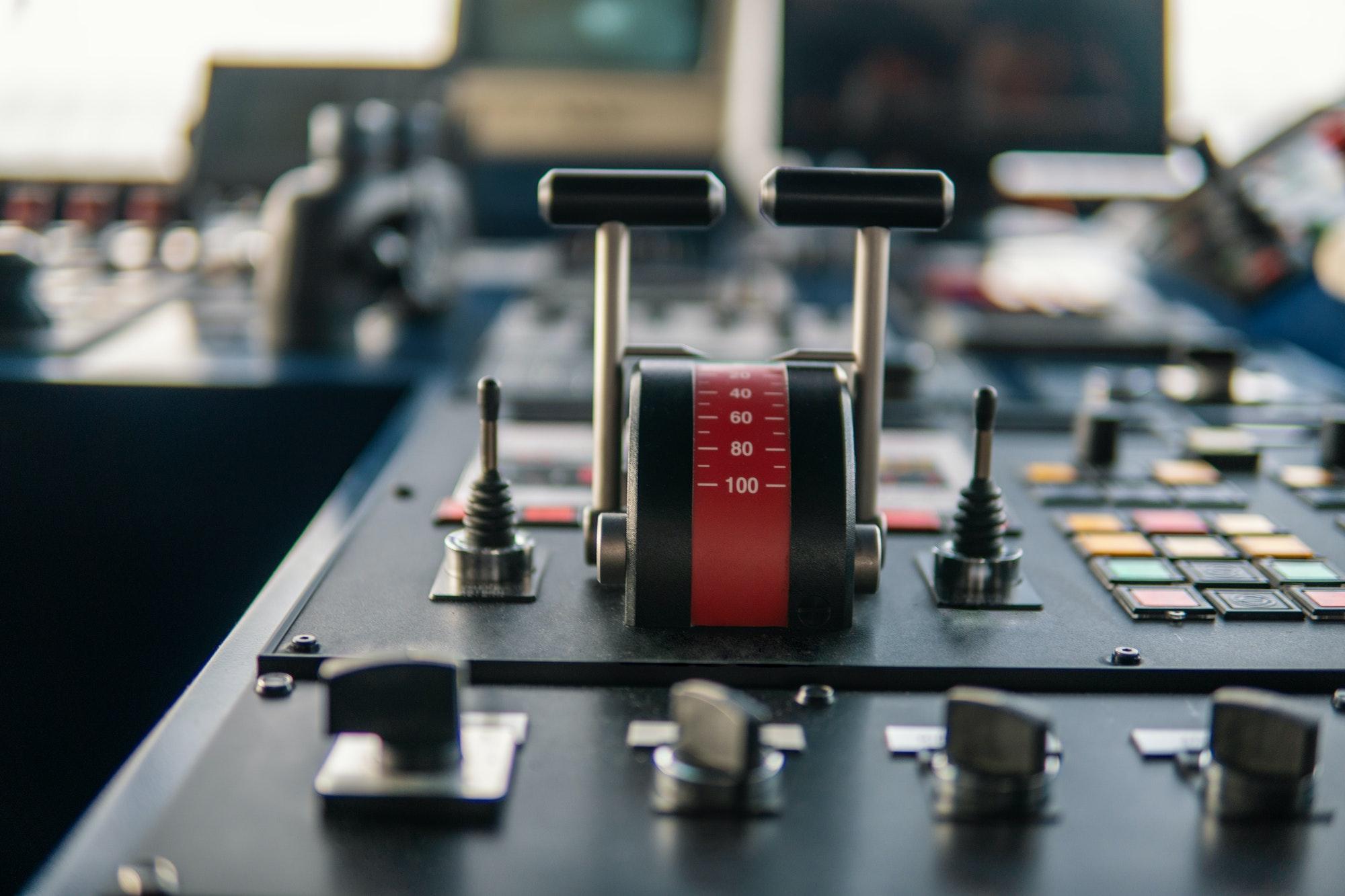 Bridge ship equipment of offshore dp vessel